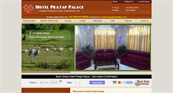 Preview of hotelpratappalace.net.in